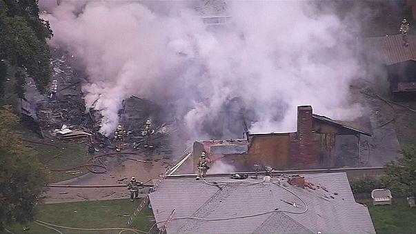 USA : un petit avion s'écrase sur des maisons, au moins 4 morts