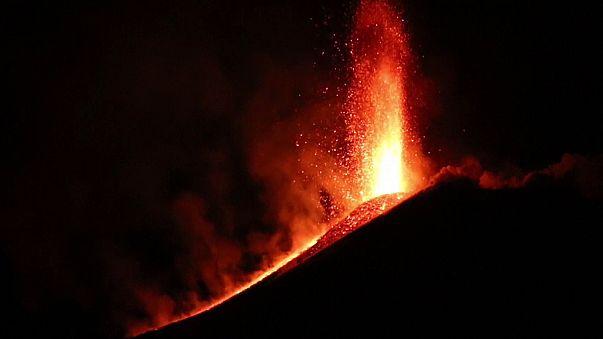 Ismét kitört az Etna
