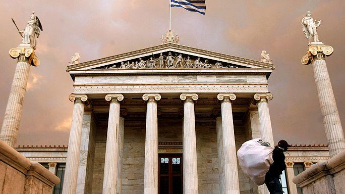Yunanistan'ın kurtarma paketi gözden geçirme görüşmeleri Atina'da yeniden başladı