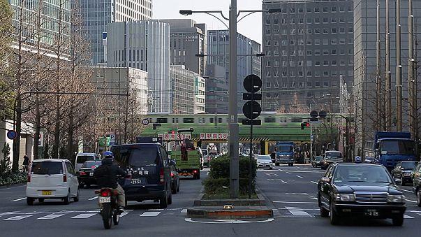 Exportações penalizam setor industrial japonês