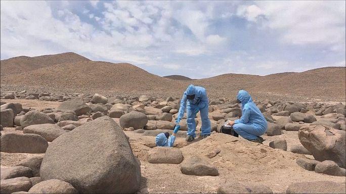 Планета Марс в пустыне Атакаме