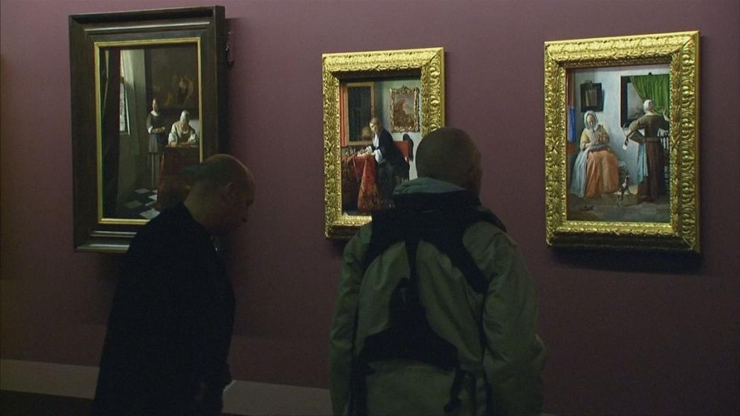 Полотна Вермеера - в Лувре