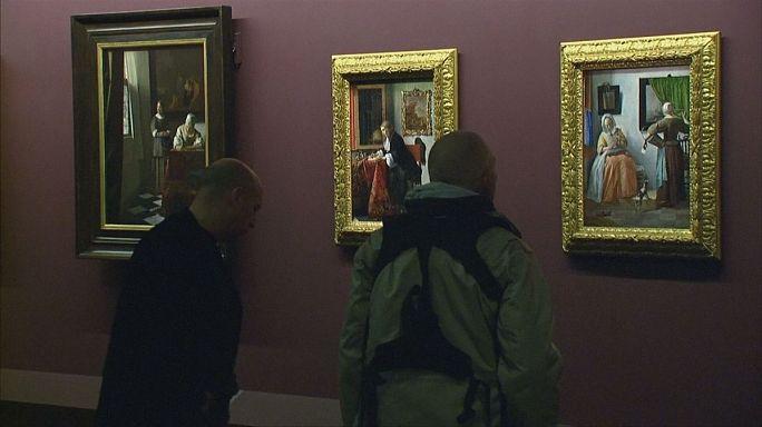 Vermeer y los maestros de la pintura de género en el Louvre de París
