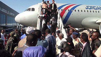 Somali refugees fleeing conflict in Yemen arrive in Mogadishu