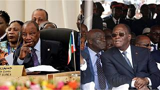 Alassane Ouattara et Alpha Condé attendus en France