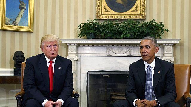 ترامب يتهم أوباما بالوقوف وراء الاحتجاجات ضد سياسته