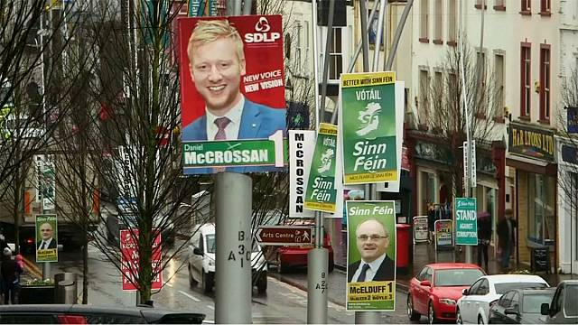 Northern Ireland heads to polls to end political deadlock