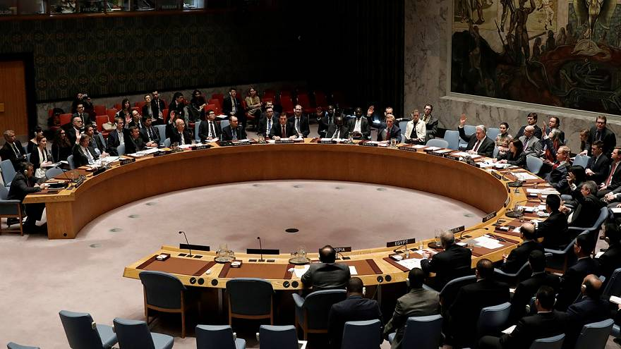 Sanctions against Syrian use of chemical weapons fails at UN