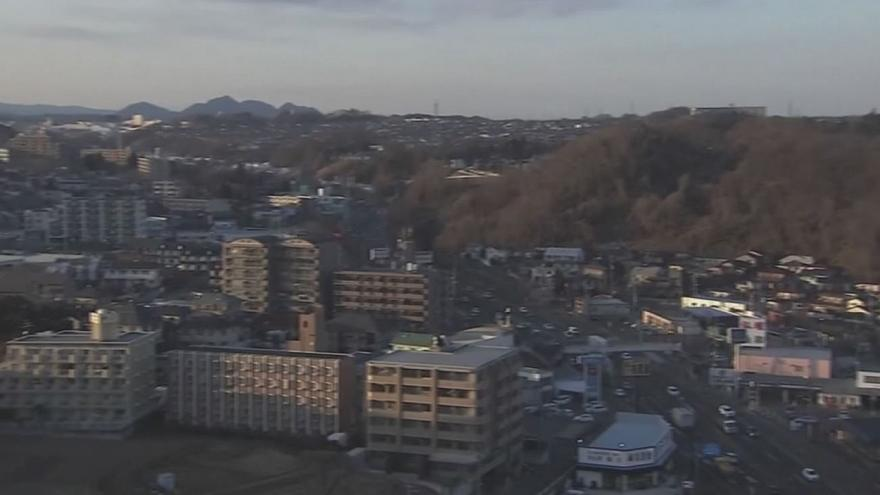 Sismo atinge Fukushima
