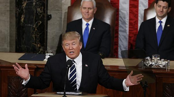 Donald Trump, ilk kez ABD Kongre'sine hitap etti
