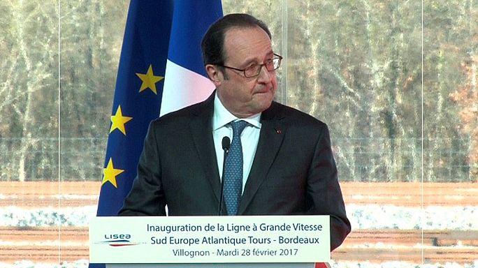 إطلاق نار بالخطأ خلال كلمة الرئيس الفرنسي فرانسوا هولاند