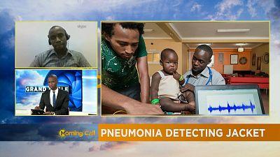 'Mamope' : La veste qui détecte les signes de pneumonie [Grand Angle]