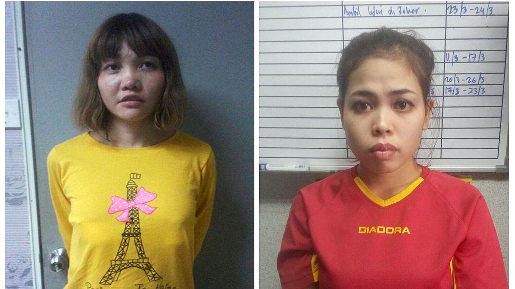 Malásia acusa duas mulheres por homicídio do meio-irmão do líder da Coreia do Norte