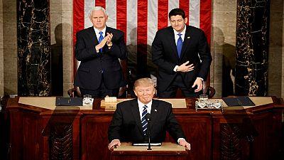 """Trump au Congrès: """"L'immigration clandestine, source de tous les maux"""""""