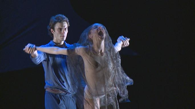 Contemporary dance at the Sochi Winter International Arts Festival