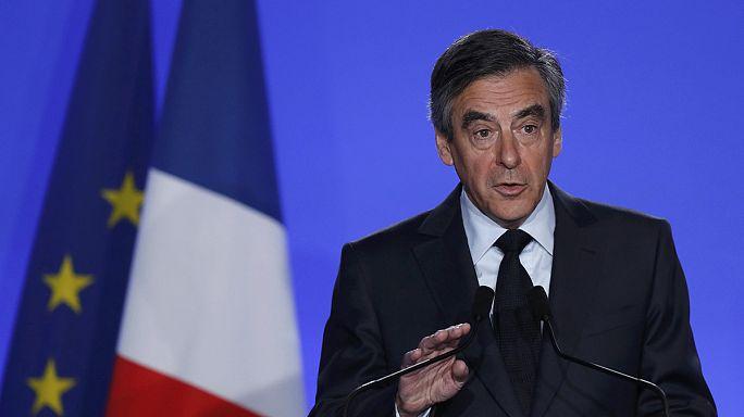 """François Fillon: """"Sonuna kadar savaşacağım, bu siyasi bir cinayet"""""""