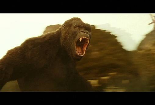 Kong, a gorilla nem rajong a hívatlan vendégekért