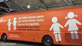 "Madrid police impound Spanish anti-transgender ""bus of shame"""