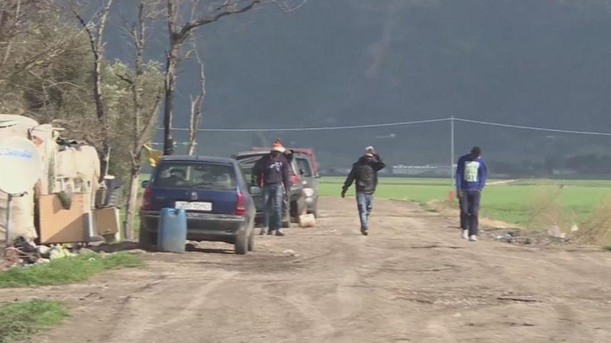 Felszámolták Olaszország egyik legnagyobb menekülttelepét