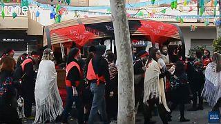 Más de 150 toneladas de caramelos en el Carnaval Vilanova i la Geltrú