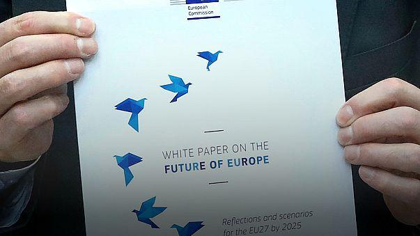 البرلمان الأوروبي يستمع الى خيارات المفوضية الأوروبية نسبة للمستقبل الأوروبي