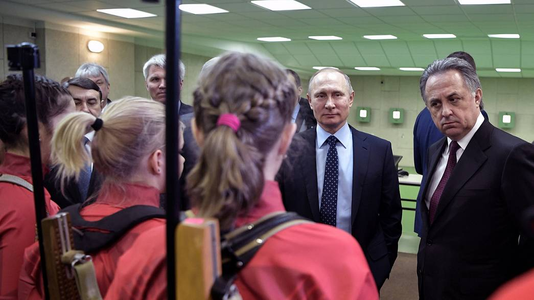 بوتين يعترف بإخفاق نظام مكافحة المنشطات في روسيا