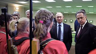 Putin admits sports anti-doping system broken in Russia