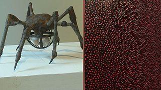 معرض فني للفنانتين لويز بورجوا ويايوي في سوثبيز