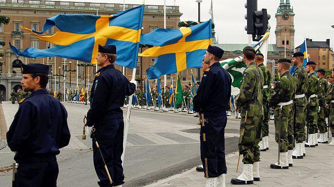 Újra bevezetik a kötelező katonai szolgálatot a svédek