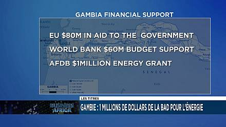 Gambia: AFDB, SEFA $1m energy support
