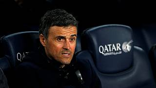 Luis Enrique says goodbye to Barcelona