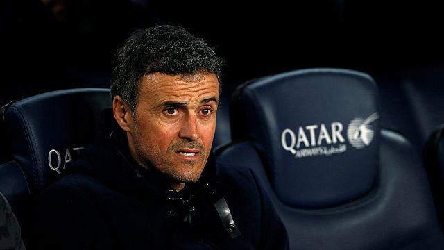 Luis Enrique says goodbye to Barcelona