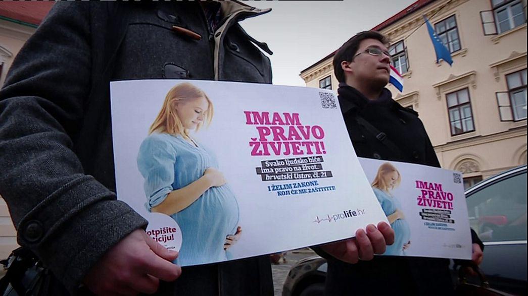 العدالة الكرواتية ترفض إعادة النظر في قانون الإجهاض