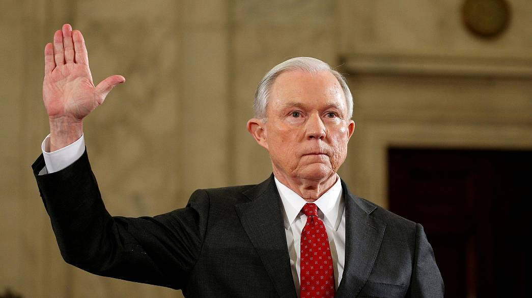 US Attorney General Jeff Sessions faces calls to quit over Russia links