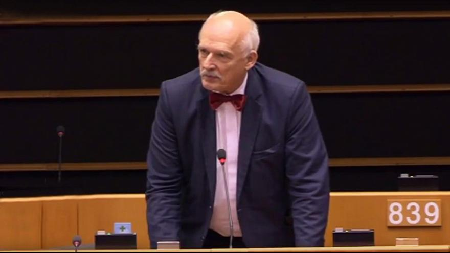 Polish MEP insists 'women must earn less' in sexist tirade