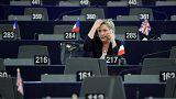 """""""Нотатки з Брюсселя"""": Ле Пен позбавили парламентського імунітету"""
