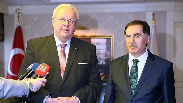 Fagyos diplomáciai viszony Berlin és Ankara között