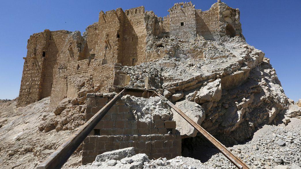 Palmyre à nouveau reprise par l'armée syrienne