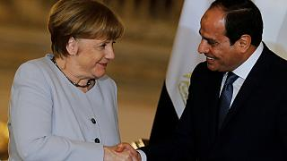 German Chancellor in Egypt to curb migrant flow