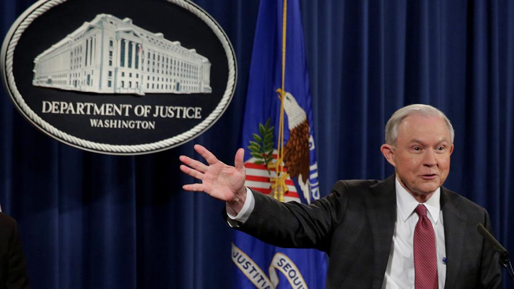 Attorney General Jeff Sessions steps aside from Russia probe