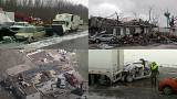 High winds cause havoc across USA