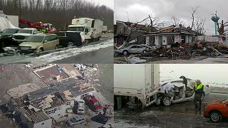 Stati Uniti: una serie di tornado si abbatte sul Midwest