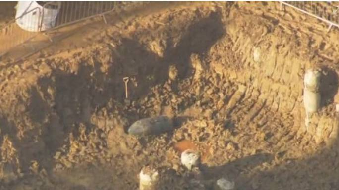 Londoners evacuated as quarter-ton WWII bomb found