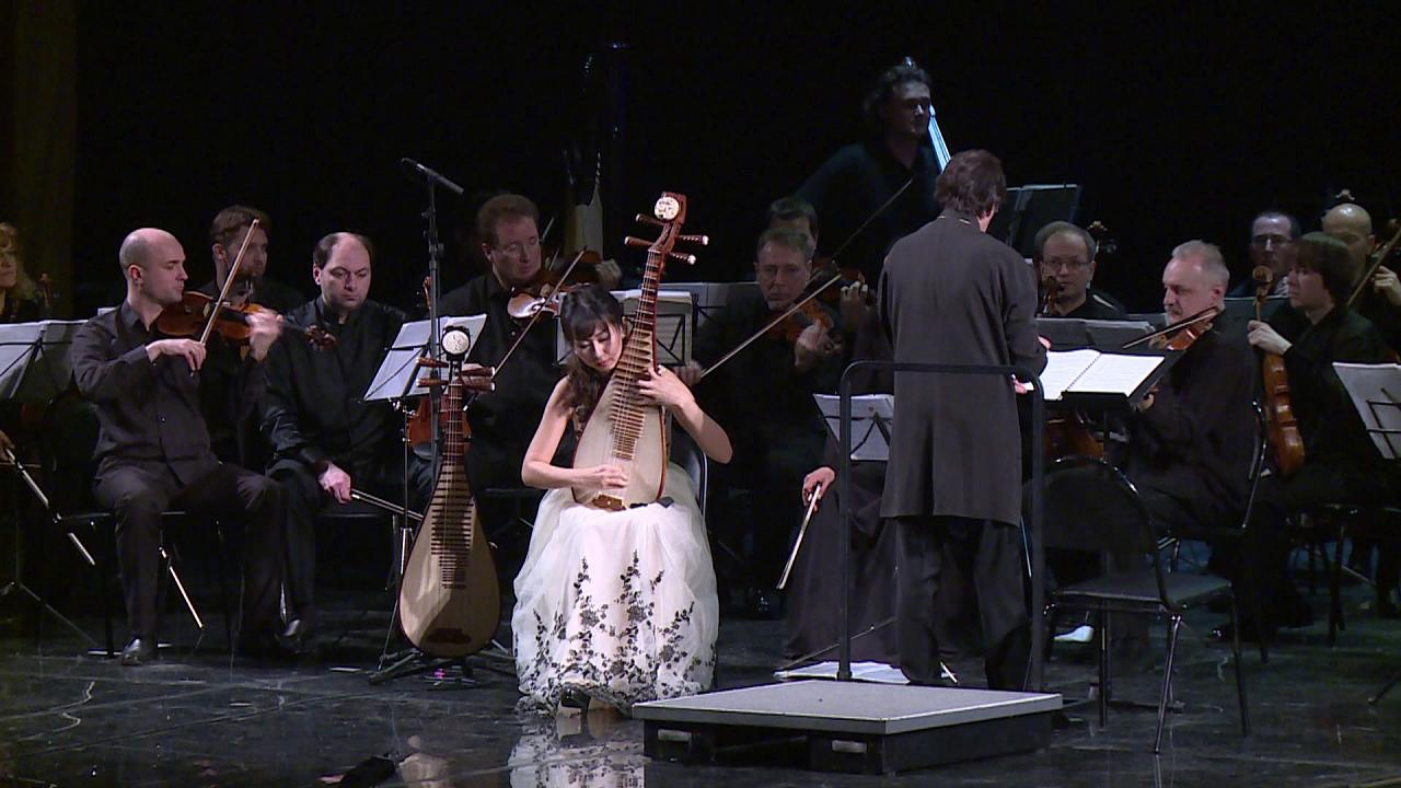 Klasik müzik Çin geleneksel melodileriyle buluştu