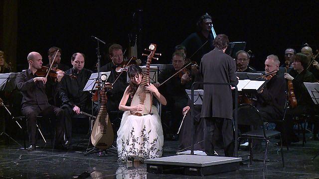 Musique traditionnelle chinoise à Sotchi