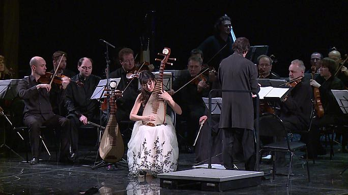 نوای موسیقی چینی در جشنواره هنر سوچی