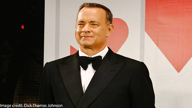 Tom Hanks sends coffee machine to White House press corps