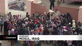 Milhares fogem de Mossul