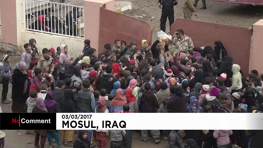 Mosul: citizens flee for their lives