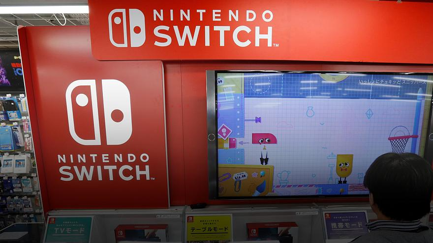Nintendo launches vital Switch console
